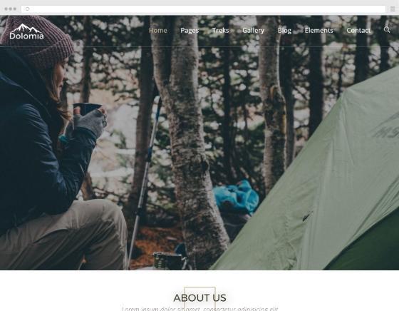 Création site internet pour accompagnateur et guide de montagne